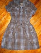 letnia sukienka z paskiem...