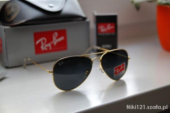 okulary ray ban męskie aviator