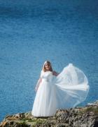 Suknia ślubna ivor ecru 38 40 160cm...