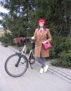 Sportowa elegancja na rower