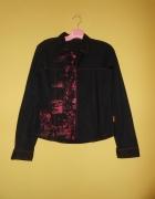 Czarna koszula bluzka r XL 42