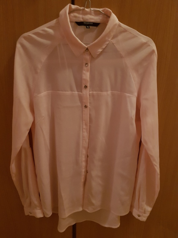 Koszule Pudrowa koszula Reserved