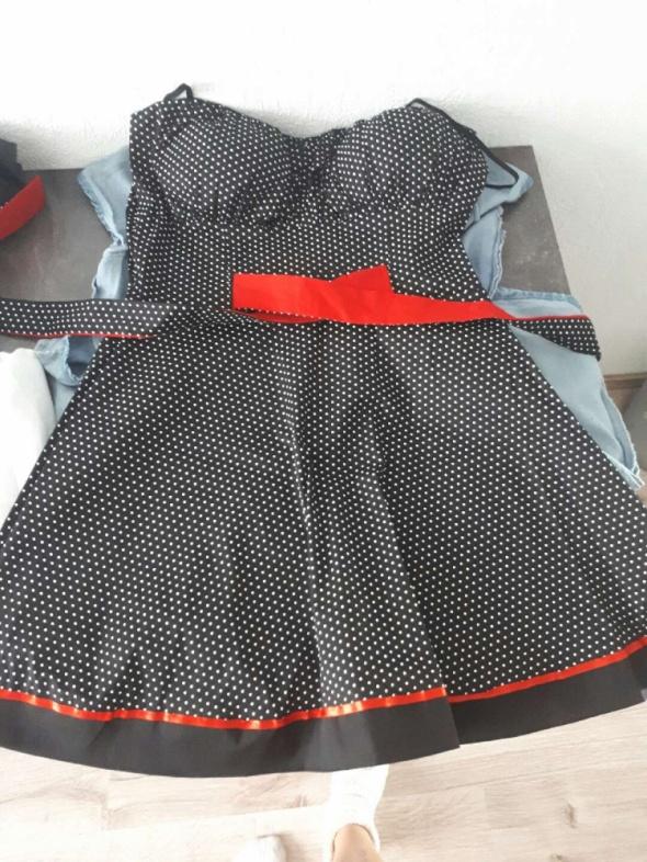 Suknie i sukienki Sukienka w groszki pin up M