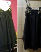 Nowa bluzka Zara rozmiar S M siateczka koronka