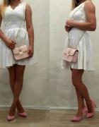 sukienka koronkowa gipiura 36