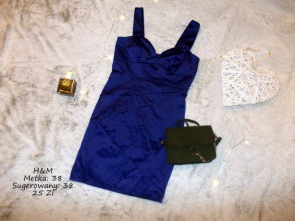 Niebieska tuba H&M