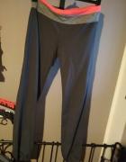 Spodnie dresowe HM szare różowe M
