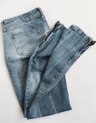 Mango jeansy Slim Rurki S zip zara jak nowe...