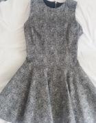 Wyjątkowa sukienka SIMPLE 34 plus halka...