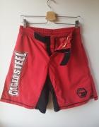 Spodenki MMA boks rozmiar M Caged Steel