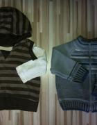 2 x sweterek sweter 6 9 12 mies 74