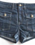 TOPSHOP spodenki jeansowe r 34...