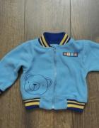 Bluza niebieska z misiem 74...