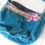 Indyjska torebka letnia kolorowa niebieska worek...