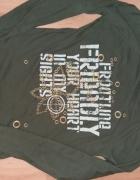 Koszulka Sisley 34bawełna 100zieleńnowa...