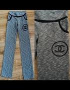 Spodnie dresowe Chanel