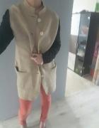 Nicole Farhi płaszcz od projektantki