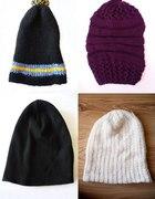 Czapka beanie czapki na zimę wełniana duży wybór