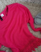 Sweterek uroczy GIPURA H&M s m