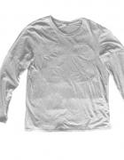 rozmiar L Szara bluza z długim rękawem