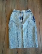 jeansowe spodniczka...