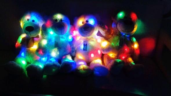 Zabawki Pluszowy miś świecący dekoracja zabawka pluszak