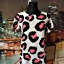 cameo rose sukienka mini panterka neonowa 36 S...