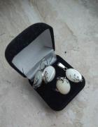 Komplet biżuterii z masą perłową