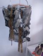 komplet sukienka kostium panterka flinstonowie