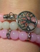 komplet pastelowych bransoletek