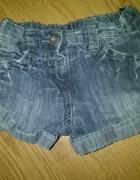 Spodenki jeansowe r 3 lata