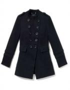 Płaszcz czarny Reserved