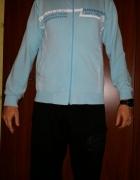 niebieska bluza S M