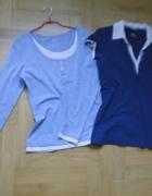 2 w cenie 1 porządne bluzki z bawełny 40 jak nowe