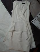 Biała sukienka XS...