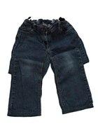 Granatowe spodnie jeansowe 134