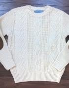 Zara kremowy sweter 118 cm
