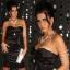 sexy czarna satynowa sukienka gorset push up 36 38...