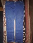 Śliczne jeansy dla puszystej 44 46