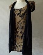 River Island NOWA sukienka z narzutką ĆWIEKI 36
