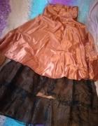 Suknia jak z bajki 36 gorset i klosz