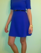 Chabrowa sukienka 36 Italy rozkloszowana