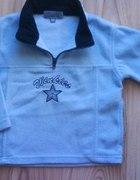 niebieska polarowa bluza chłopięca 98