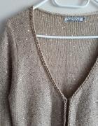 Złoty sweterek z cekinami Quiosque...
