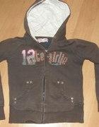 Reserved ciepła bluza dla dziewczynki 140