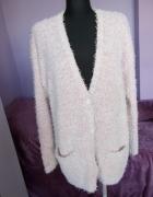 Sweter kardigan fluffy uk18 46...