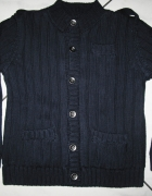 PANDEMONIUM granatowy sweterek chłopiec r 104