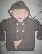 LUPILU szary sweterek dziewczęcy roz 74