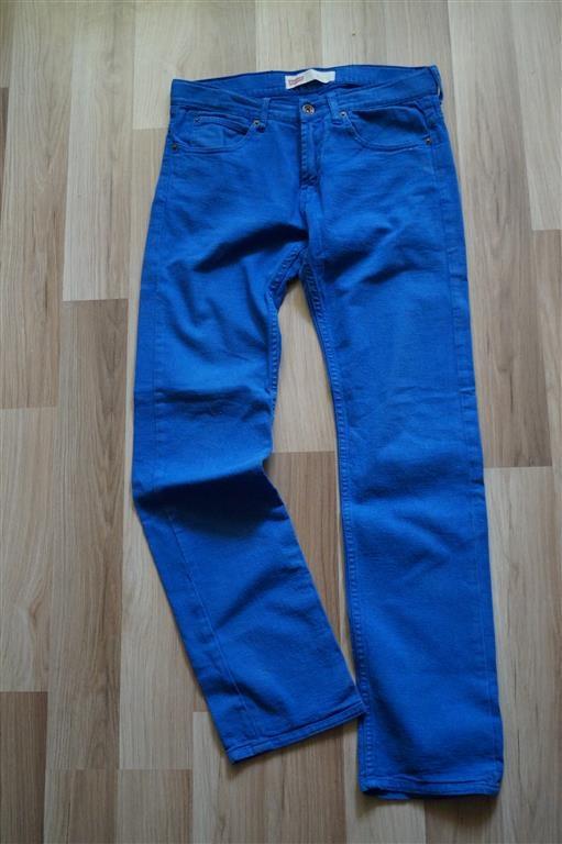 spodnie damskie levis dżinsy niebieskie rozmiar 38