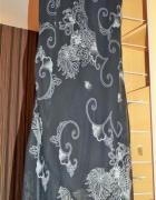 Sukienka letnia lejąca kwiatowy wzór elegancka rozmiar XL